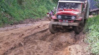 Cosechas a punto de perderse por mal estado de vías rurales en La Paz, Cesar