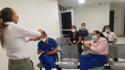 Cruz Roja fortalece la vacunación contra el covid-19 en Sucre