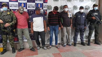 Capturan a cuatro sujetos por intento de secuestro a dos menores en Maicao