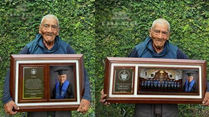 Con 84 años se graduó de la universidad y planea seguir estudiando