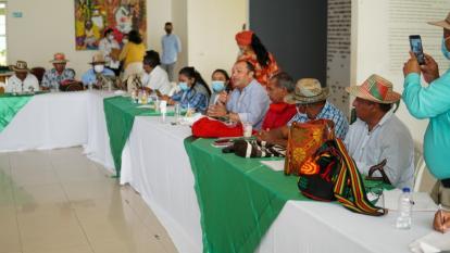 Socializan el Plan Especial de Salvaguarda del Sistema Normativo Wayuu