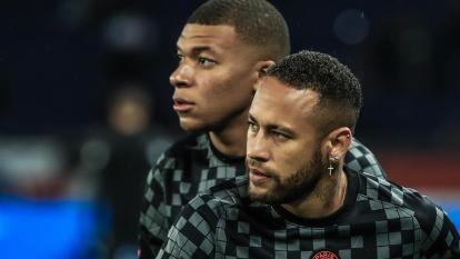¿Se enturbia la relación entre Mbappé y Neymar?