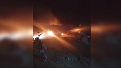 Atacan con cilindros bomba base militar en Tibú