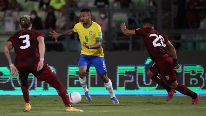 Brasil sufrió para vencer a Venezuela en la Eliminatoria Sudamericana