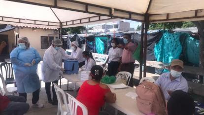 Se intensifica vacunación contra covid-19 en Riohacha