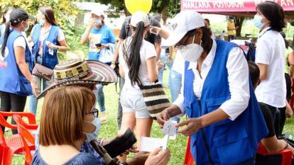 Más de 425.000 dosis de vacunas han sido aplicadas en Valledupar