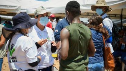 ICBF ha atendido 1.300 niños migrantes en Necoclí
