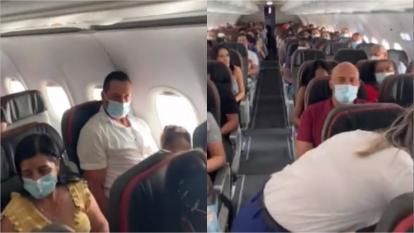 Pasajeros reunieron dinero para evitar que sacarán a una bebé de un vuelo