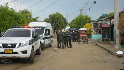 Ataque a bala en La Chinita: dos hombres muertos y una mujer herida
