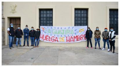 Diálogo entre Gobierno y jóvenes huelguistas no tuvo éxito