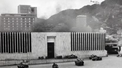 Tribunal ratifica condena contra el coronel Sánchez por caso del Palacio de Justicia