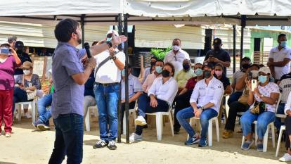 Distrito anuncia construcción de una galería comercial en La Loma
