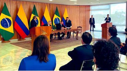 Seguridad, uno de los ejes de los acuerdos con Brasil