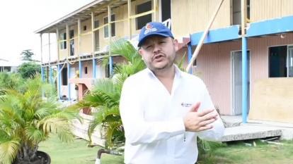 Reportan avance del 71% en reconstrucción de viviendas en Providencia