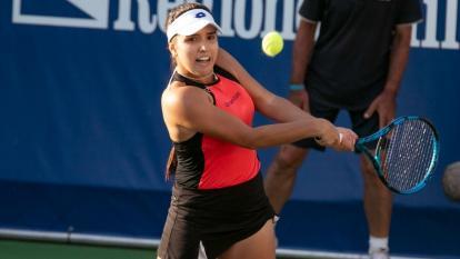 Camila Osorio se metió entre las cuatro mejores del WTA de Tenerife