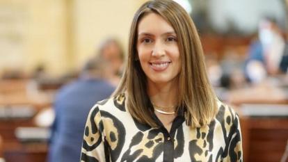 Sara Piedrahíta: Congresista asegura estar tranquila pese a indagatoria