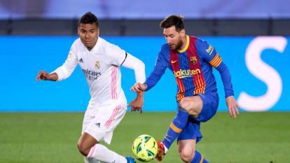 """""""Messi es una gran pérdida para el clásico"""": Casemiro"""