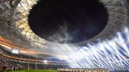 Catar inauguró el estadio Al Thumama de cara a la Copa del Mundo
