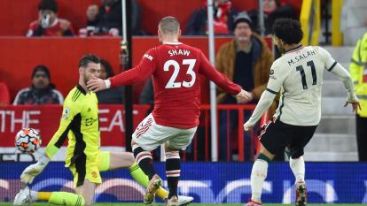 Humillación del Liverpool al Manchester United en la Premier League