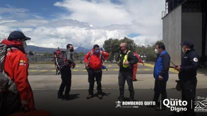 Al menos tres muertos por avalancha en la montaña más alta de Ecuador