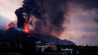 79 terremotos en una sola noche en la isla del volcán de La Palma por erupción