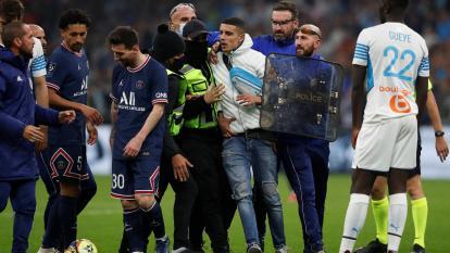 Los incidentes en torno al clásico Marsella-PSG terminan con 21 detenidos