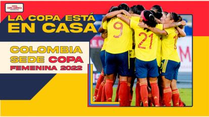 Colombia será sede de la Copa América Femenina 2022