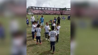 Juez ordenó a torneo de fútbol dejar jugar a niña de 8 años en Sabanalarga
