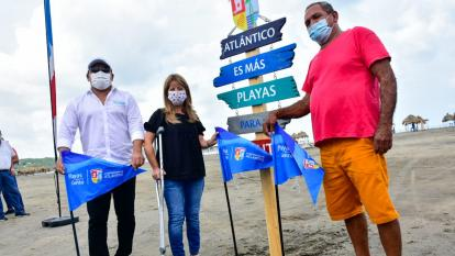 Con banderazo oficializan ordenamiento de playa en Puerto