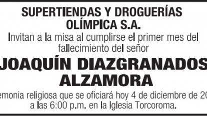 Joaquín Diazgranados Alzamora