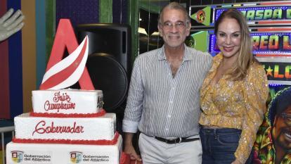 Cumpleaños del gobernador Eduardo Verano De a Rosa