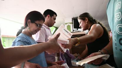 Así transcurrió el conteo de votos en Barranquilla
