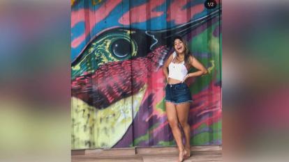 Valentina González, la joven barranquillera fallecida en Isla Cholón