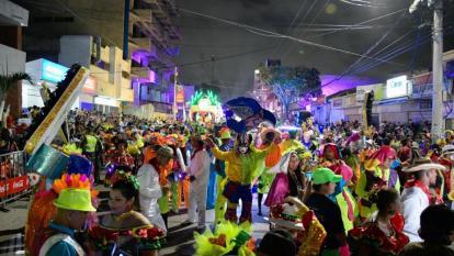 En imágenes   Así se vivió el ambiente de la gran noche de Guacherna 2020