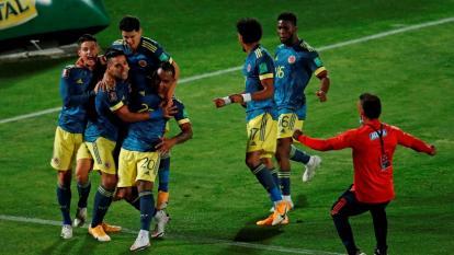 El álbum del empate 2-2 entre Chile y Colombia