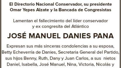 José Manuel Danies Pana