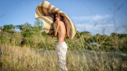 Camila Calderón y su sueño de brillar en el modelaje