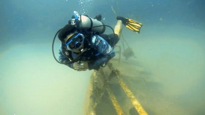 Así es el barco hundido que crea vida e impulsa el buceo en Coveñas