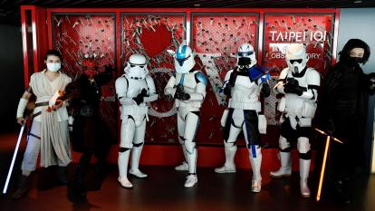 Celebración del día de Star Wars