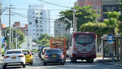 Operación del transporte público este lunes
