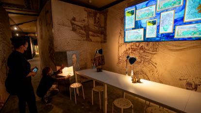 Exponen obras de Van Gogh a través de arte digital en Boston