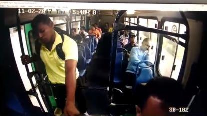 Nuevo atraco se registra la mañana de este jueves en bus de Sobusa