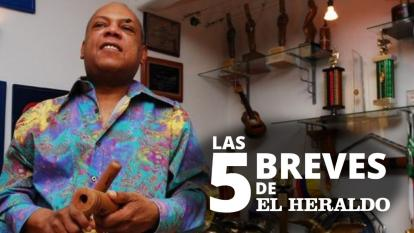 Las 5 breves EH | Chelito De Castro y Eddy Herrera le rinden tributo al Joe Arroyo en su aniversario de fallecido