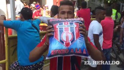 DT callejero | Samarios dan su marcador para el partido Unión Magdalena  vs Deportes Quindío