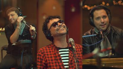 SanLuis y Andrés Cepeda, juntos esta Navidad en 'Son tan buenos los recuerdos'