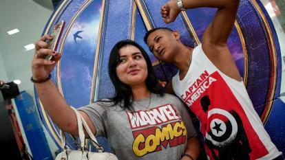 """""""Épico"""": las reacciones de los barranquilleros con el estreno de Avengers: Endgame"""