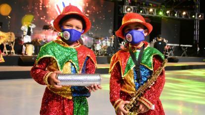 Banda de Baranoa homenajea la cultura del Atlántico
