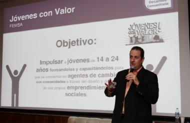 Francisco Suárez, director de Sostenibilidad de Coca-Cola Femsa.