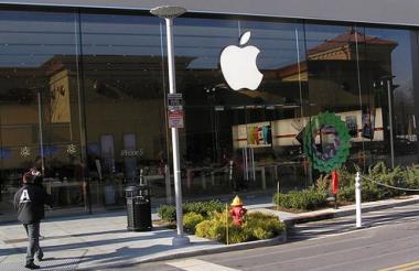 Apple store in Yonkers, New York