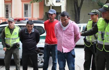 Los detenidos fueron trasladados a la URI de la Fiscalía de Barranquilla.